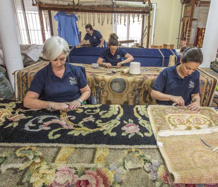 restauracion alfombras