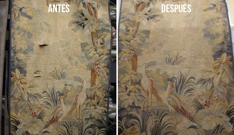 restauracion tapices